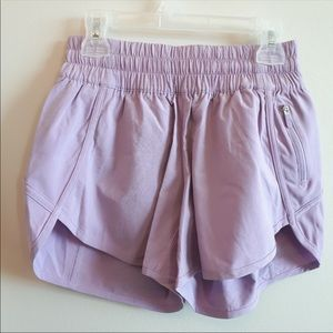 Purple lululemon shorts size 4